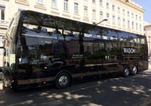 Se déplacer à Lyon en Wagon Bar style Orient express