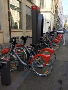 Se déplacer à Lyon en Vélov